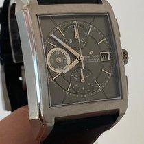 Maurice Lacroix Pontos folosit 43mm Gri Cronograf Silicon