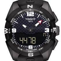 Tissot Titanium Quartz Black Arabic numerals 45mm new T-Touch Expert Solar