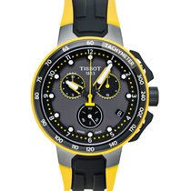 Tissot T-Race Cycling Сталь 44.5mm Cерый