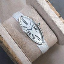Cartier Baignoire Sehr gut Weißgold Handaufzug