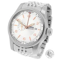 Oris Big Crown Small Second Pointer Day Steel 44mm Silver Arabic numerals United Kingdom, London