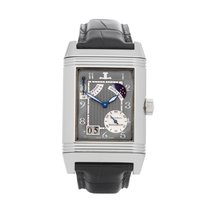 Jaeger-LeCoultre Platinum Manual winding Grey Arabic numerals 29mm pre-owned Reverso (submodel)