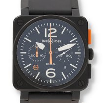 Bell & Ross BR 03-94 Chronographe Steel 42mm Black United States of America, New Hampshire, Nashua