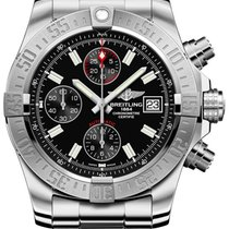Breitling Avenger II Steel 43mm Black No numerals United States of America, New York, New York