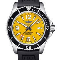 Breitling Superocean 44 Steel 44mm Yellow United States of America, New York, New York