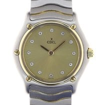 Ebel Classic Steel 26.5mm Champagne No numerals