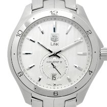 TAG Heuer Link Calibre 6 Steel 40mm Grey