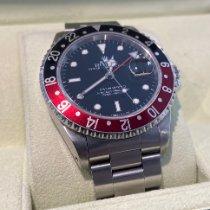Rolex GMT-Master II Steel 40mm Black No numerals United Kingdom, Epsom