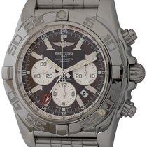 Breitling Chronomat GMT Acero 47mm Marrón