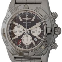 Breitling Chronomat GMT Сталь 47mm Коричневый