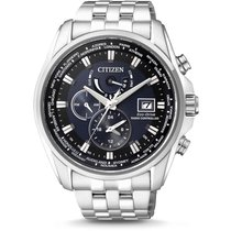 Citizen Steel Chronograph AT9030-55L new