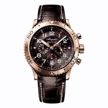 Breguet Type XX - XXI - XXII Rose gold 42mm Grey Arabic numerals United Kingdom, London