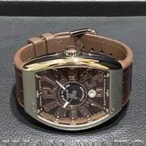 Franck Muller Vanguard Steel 53mm Brown Arabic numerals Singapore, Singapore