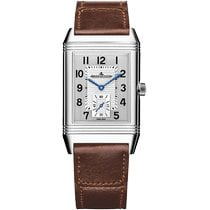 Jaeger-LeCoultre Reverso Duoface Steel 47mm Silver Arabic numerals