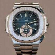 Patek Philippe Steel 40.5mm Automatic 5980/1A-001 pre-owned
