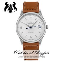Jaeger-LeCoultre Master Control Date Stal 40mm Srebrny