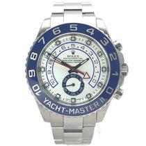 Rolex Yacht-Master II gebraucht 44mm Weiß Stahl