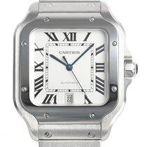 Cartier Santos (submodel) neu 2020 Automatik Uhr mit Original-Box und Original-Papieren WSSA0018