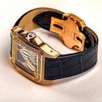 Cartier Santos 100 Желтое золото 41mm Без цифр