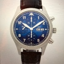 IWC Pilot Chronograph Acier 42mm Bleu Arabes France, PARIS