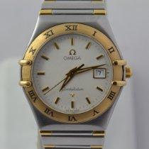 Omega Constellation Ladies Oro/Acciaio 27mm Bianco Italia, Roma