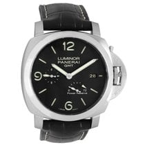 Panerai Luminor 1950 3 Days GMT Power Reserve Automatic Stahl 44mm Schwarz