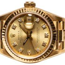 Rolex Lady-Datejust Желтое золото 26,00mm Золотой Без цифр