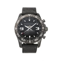 Breitling Chronospace Military Steel 46mm Black No numerals