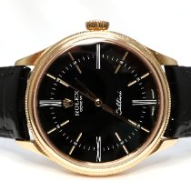 Rolex Cellini Time Rose gold 39mm Black No numerals United Kingdom, Essex
