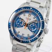 Tudor Heritage Chrono Blue 70330B 2014 gebraucht
