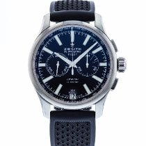 Zenith Captain Chronograph Steel 42mm Black United States of America, Georgia, Atlanta