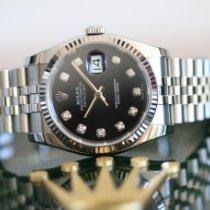 Rolex Datejust 116234 Ubrukt Stål 36mm Automatisk