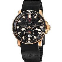 Ulysse Nardin Yellow gold Automatic 42.7mm pre-owned Maxi Marine Diver