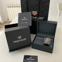 TAG Heuer Steel 43mm Automatic CAR201U.FC6405 new