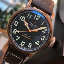 Zenith Pilot Type 20 Extra Special pre-owned 45mm Black Leather
