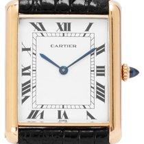 Cartier Tank (submodel) Yellow gold 27mm