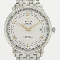 Omega De Ville Prestige Steel Silver