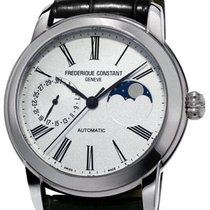 Frederique Constant FC-712MS4H6 Steel 2020 Manufacture Classic Moonphase 42mm new
