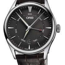 Oris 01 755 7742 4053-07 5 21 65FC Steel 2020 Artelier Pointer Day Date 40mm new