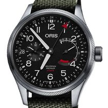 Oris Big Crown ProPilot Calibre 114 Acier 44mm Noir