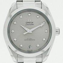 Omega Seamaster Aqua Terra Acier 34mm Argent