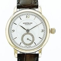 Montblanc Rose gold Automatic Champagne 32mm new Star