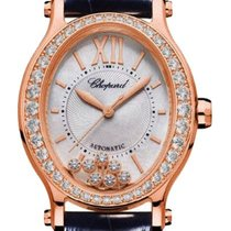 Chopard Happy Sport 275362-5002 Ny Rosa guld 31mm Automatisk