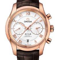 Omega De Ville Co-Axial Oro rosa 42mm Plata
