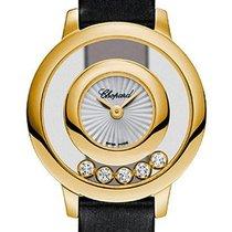 Chopard 209417-0001 Žluté zlato 2021 Happy Diamonds 26mm nové