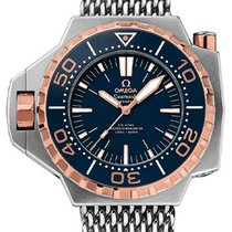 Omega Rose gold Automatic Blue new Seamaster PloProf