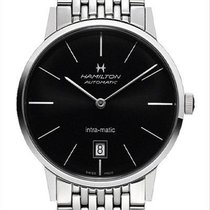 Hamilton Intra-Matic new 2020 Automatic Watch with original box and original papers H38455131