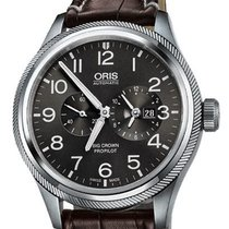 Oris Big Crown ProPilot Worldtimer Acier 45mm Gris