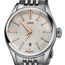 Oris Steel 28mm Automatic 01 561 7722 4031-07 8 14 79 new