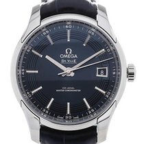Omega De Ville Hour Vision neu 2020 Automatik Uhr mit Original-Box und Original-Papieren 433.33.41.21.03.001
